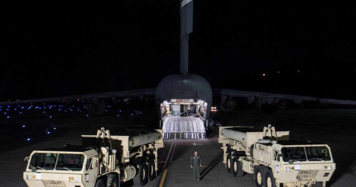 США начали развертывать ПРО THAAD в Южной Корее