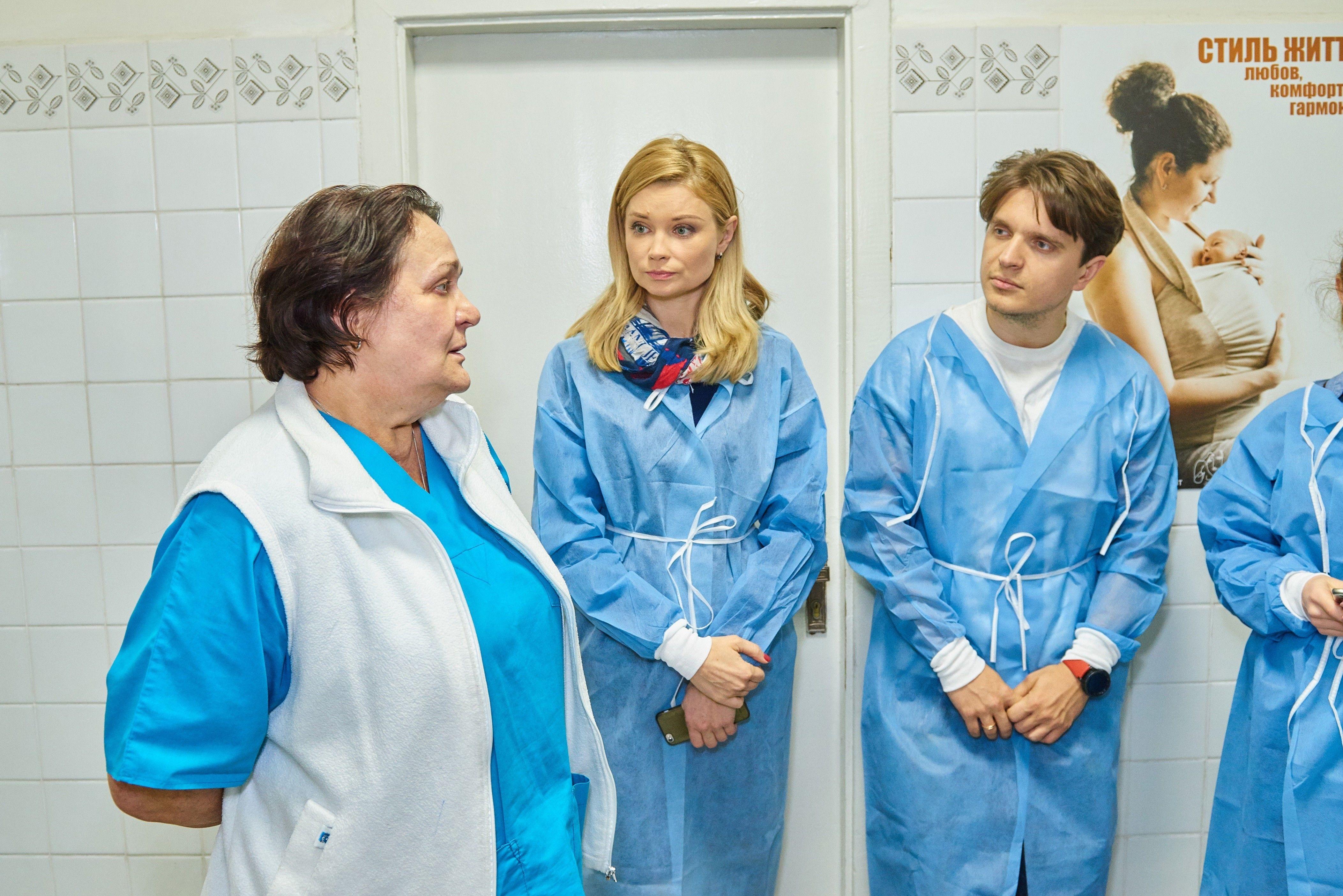 Лідія Таран і Анатолій Анатоліч відвідали Національну дитячу лікарню «ОХМАТДИТ» _6