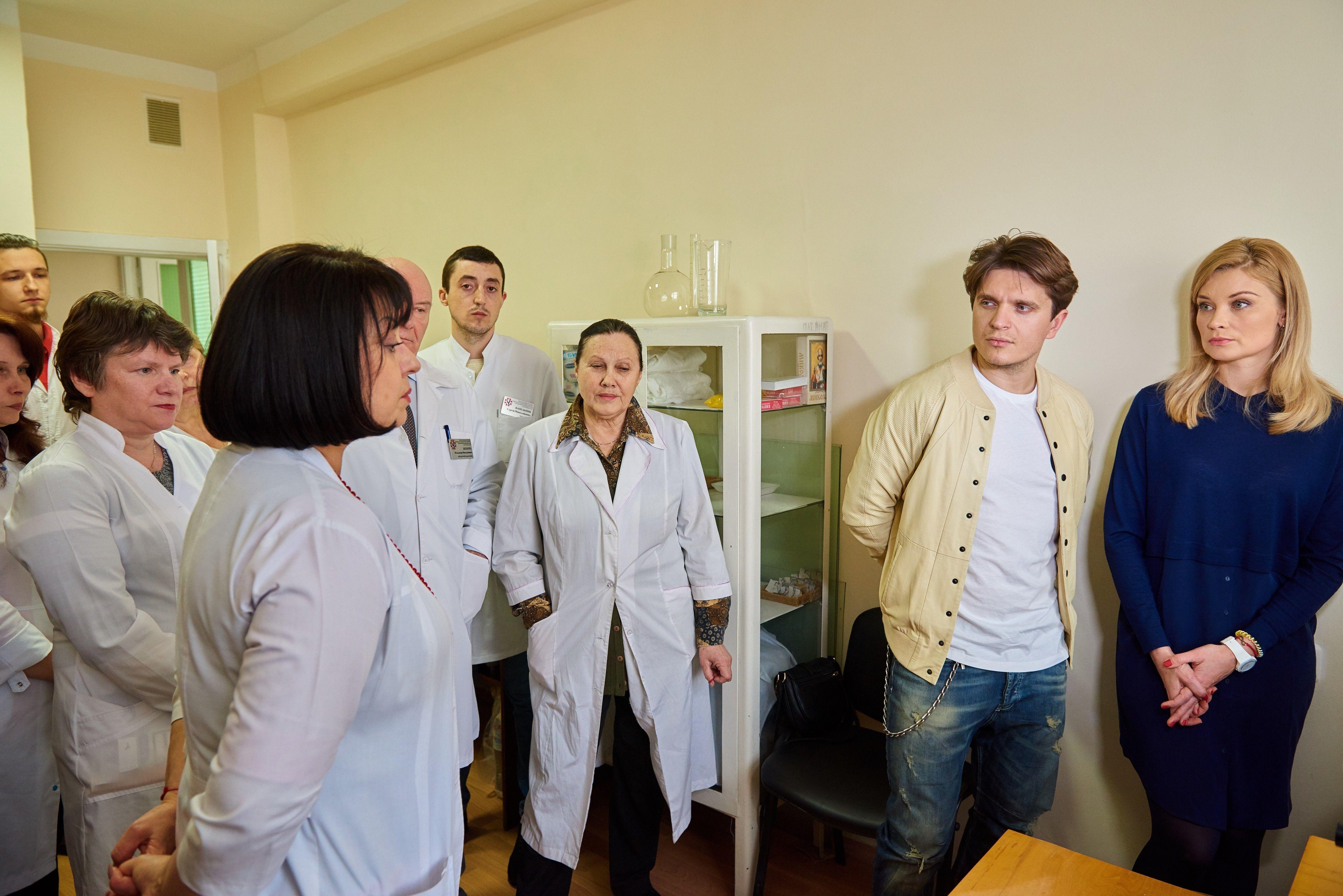 Лідія Таран і Анатолій Анатоліч відвідали Національну дитячу лікарню «ОХМАТДИТ» _2