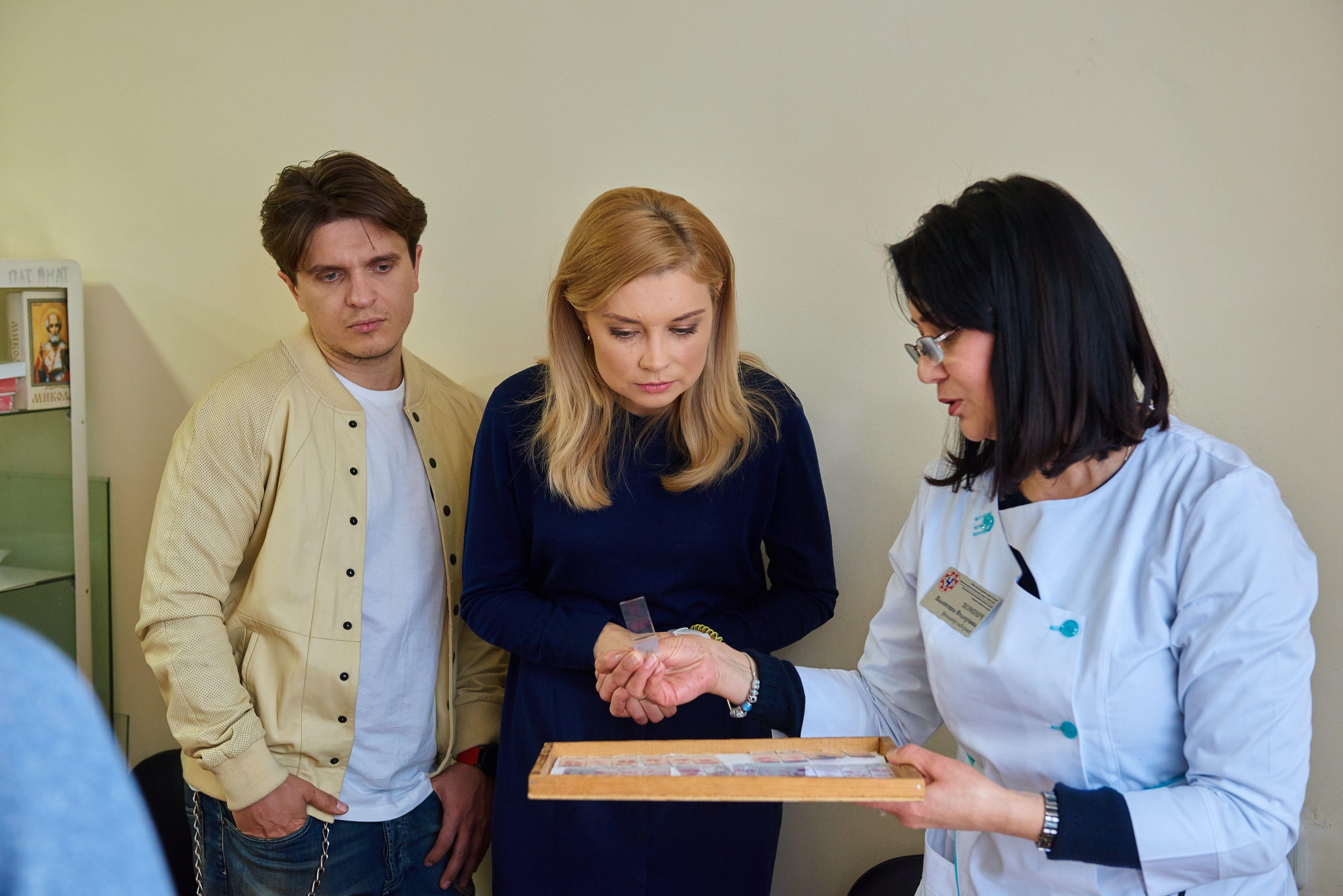 Лідія Таран і Анатолій Анатоліч відвідали Національну дитячу лікарню «ОХМАТДИТ» _3