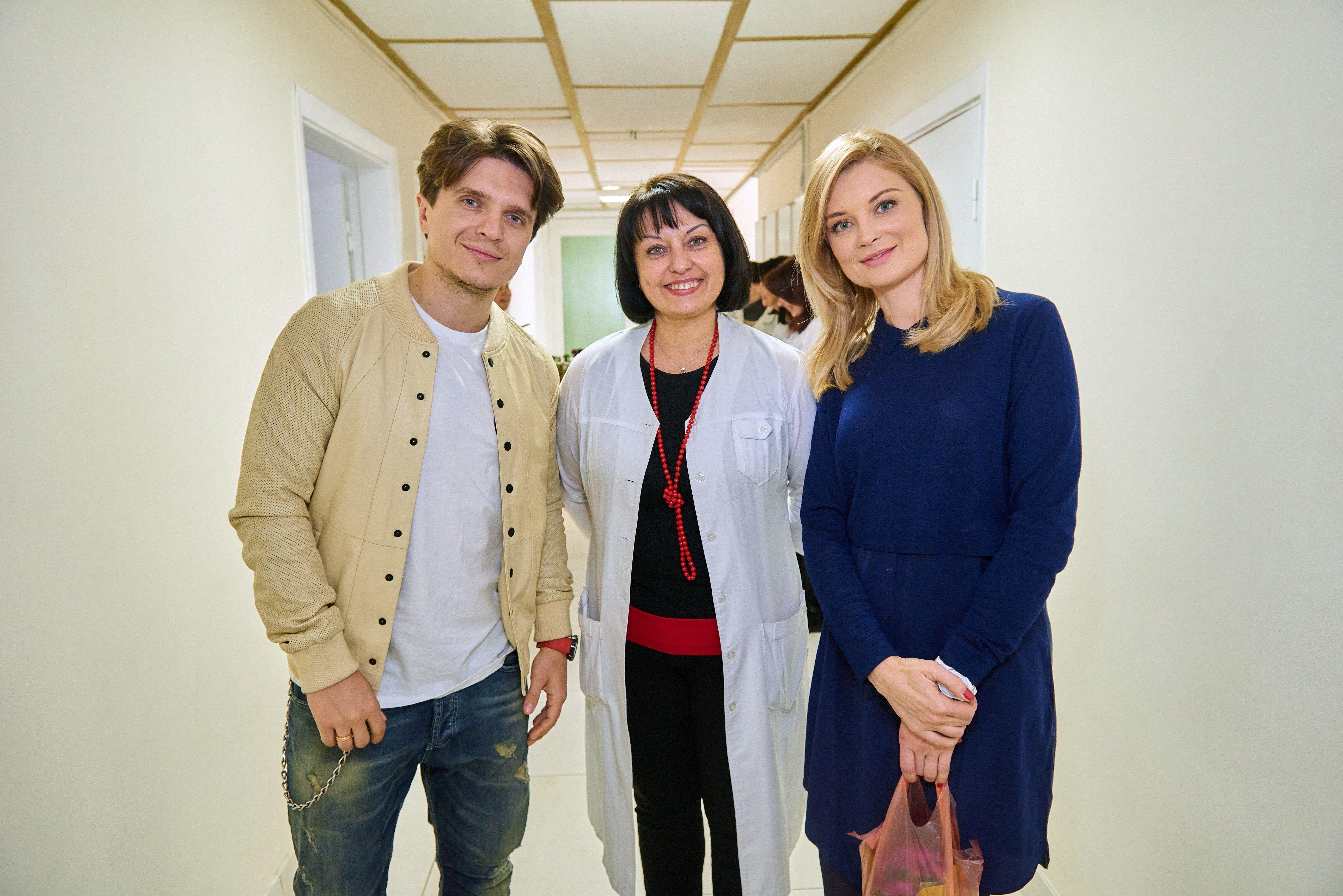 Лідія Таран і Анатолій Анатоліч відвідали Національну дитячу лікарню «ОХМАТДИТ» _5