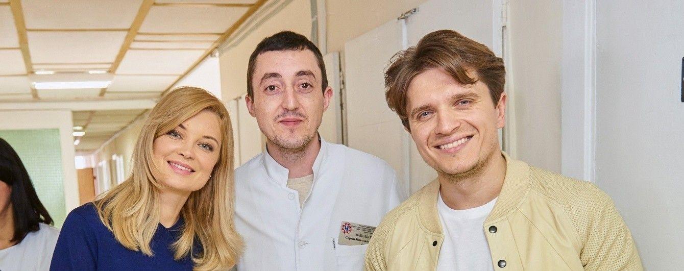 """Лідія Таран і Анатолій Анатоліч подарували необхідне обладнання дитячій лікарні від """"1+1 медіа"""""""