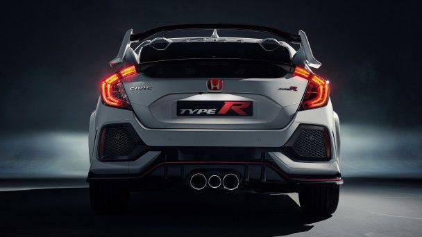 Японцы представили серийную версию Honda Civic Type R