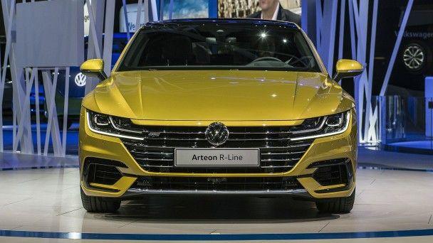 Volkswagen выкатил в Женеве купеобразный седан Arteon