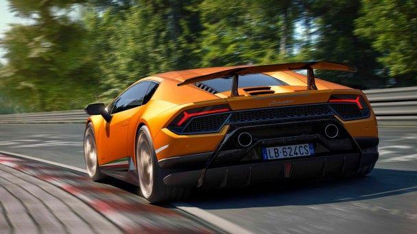 Lamborghini привезла в Женеву новую версию Huracan