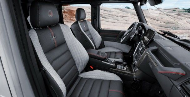 Brabus поработал над внедорожником Mercedes-Benz G500 4x4²