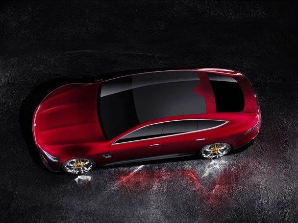 Немцы представили в Женеве четырехдверный спорткар Mercedes-AMG GT Concept