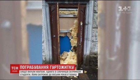 В Киеве ограбили общежитие Киевского Политехнического института