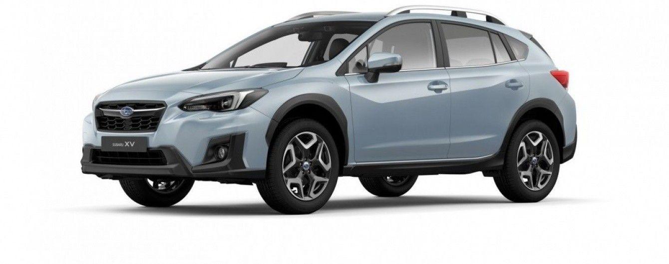 Subaru презентовала в Женеве новый кроссовер XV