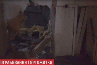 Троє злочинців зруйнували стіну, аби пограбувати гуртожиток КПІ