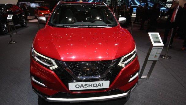 Nissan показал в Женеве обновленный Qashqai
