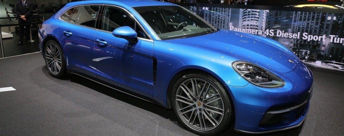В Женеве Porsche выкатила универсал Panamera Sport Turismo