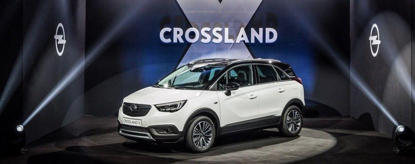 Opel провел премьеру нового вседорожника Crossland X