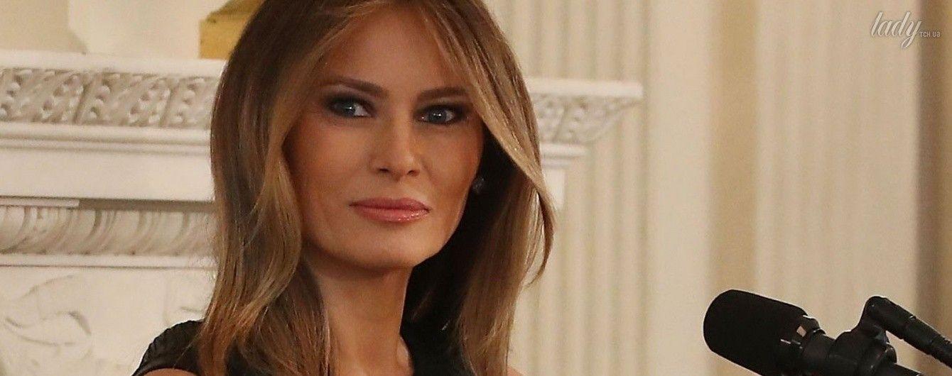 Как всегда, элегантна: Мелания Трамп провела прием в Белом доме