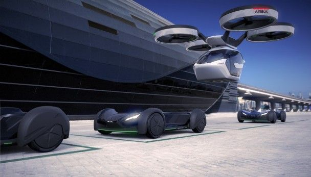 Airbus создал летающий автомобиль