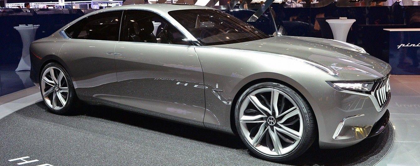 Pininfarina продемонстрировала в Женеве роскошный седан H600