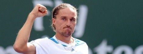 Украинец Долгополов победил лучшего теннисиста России на пути в полуфинал Бастади