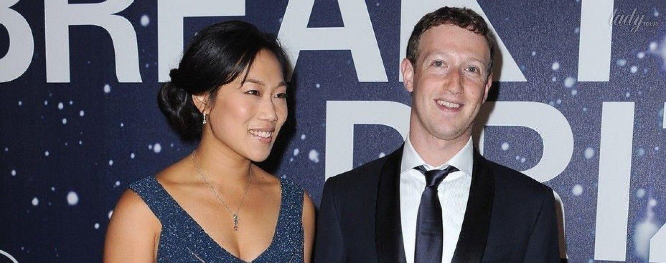 Марк Цукерберг и Присцилла Чан ждут второго ребенка
