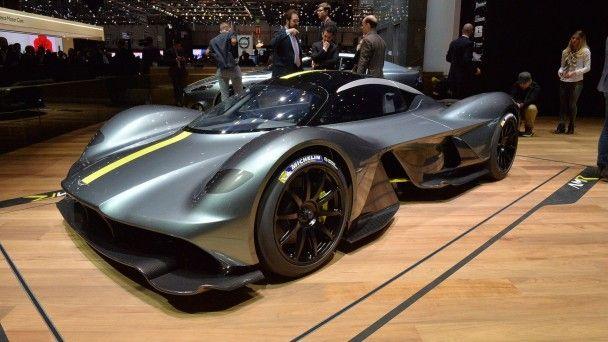 Aston Martin рассекретил гиперкар Valkyrie