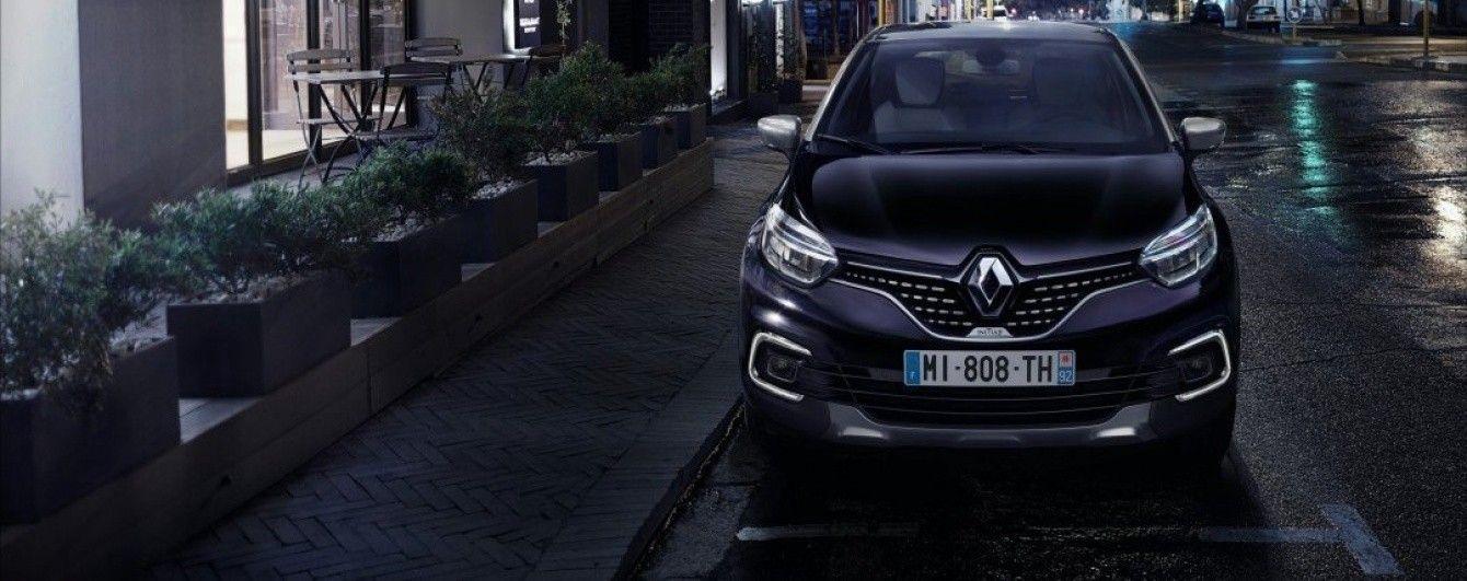 Renault обновил компактный кроссовер Captur