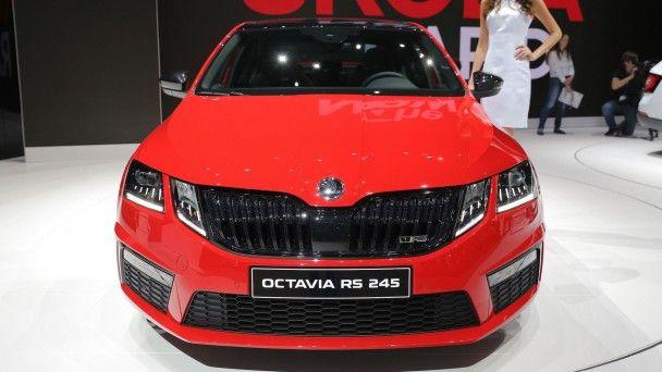 В Женеве Skoda представила самую мощную модификацию Octavia