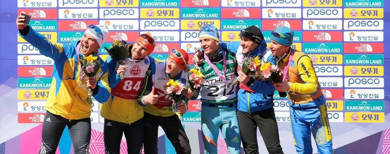 Украинские паралимпийцы завоевали 9 наград в первый день Кубка мира по лыжным гонкам и биатлону