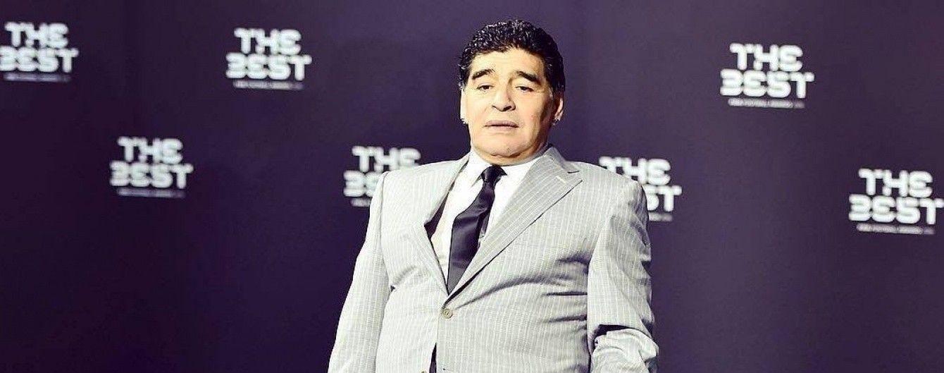Марадона влаштувався послом у чемпіонат Китаю