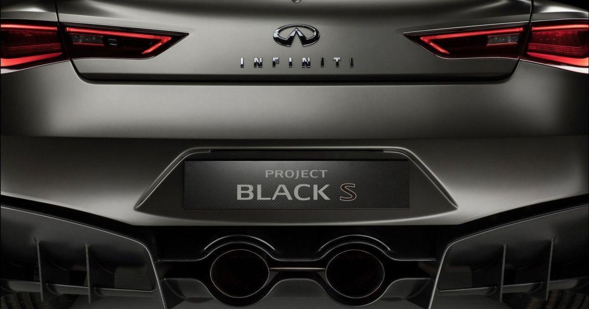 Infiniti Project Black S