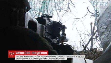 Нічний удар по Луганщині: шестеро воїнів зазнали поранень та травм