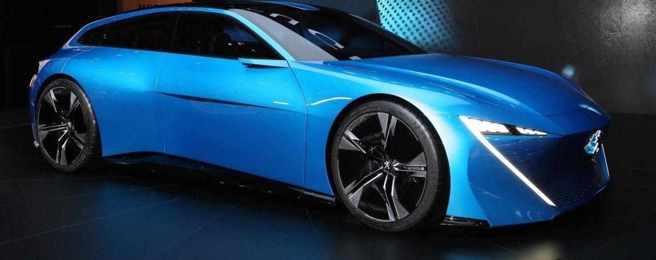 Peugeot представил в Женеве концепт Instinct