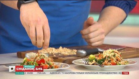 Готовим жареный рис на поздний завтрак вместе с Эдуардом Насыровым