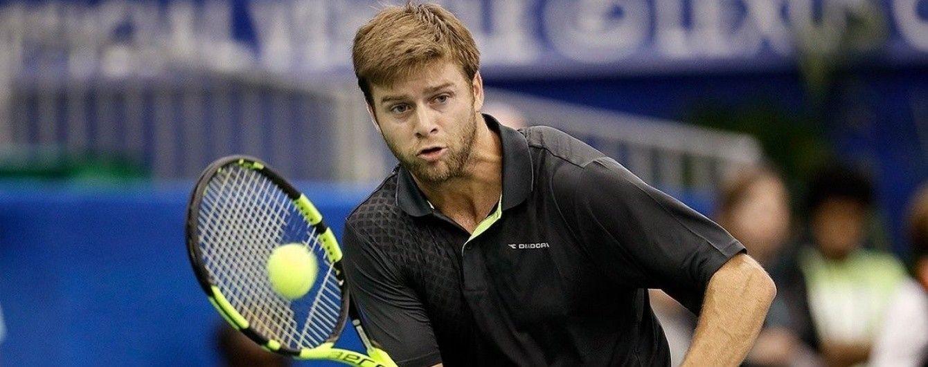 Американський тенісист розбив п'ять ракеток за дві хвилини матчу