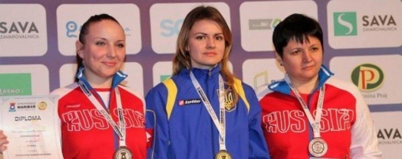 Украинцы завоевали три медали на чемпионате Европы по стрельбе из пневматического оружия