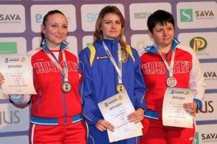 Українці завоювали три медалі на чемпіонаті Європи зі стрільби з пневматичної зброї