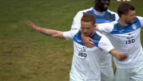 Черноморец - Сталь - 0:1. Видео гола Васина