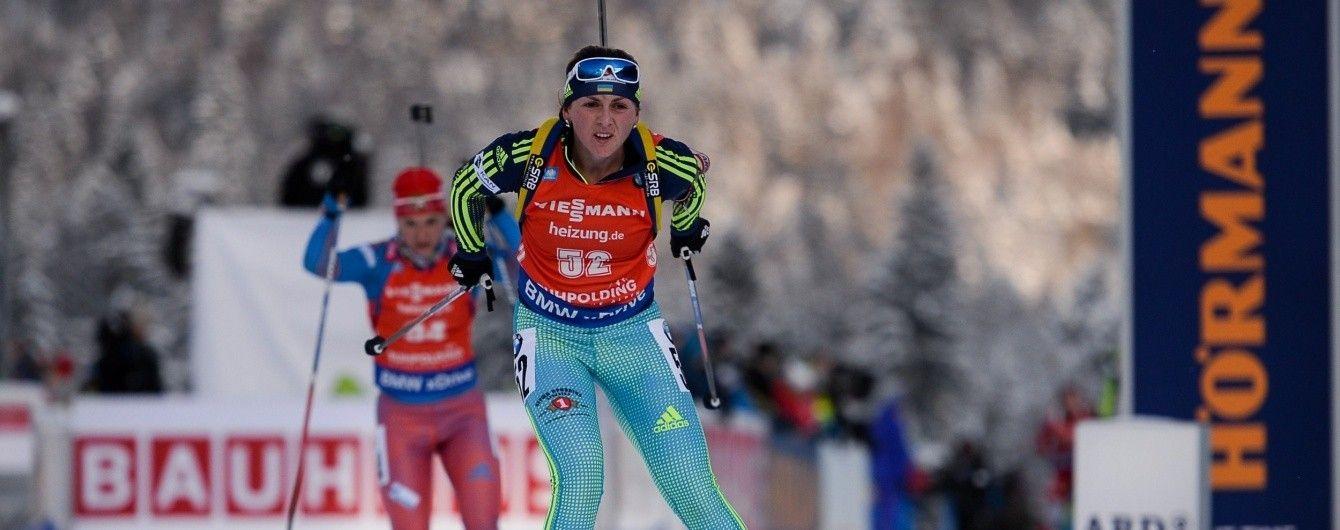 Украинка Варвинец заняла 7 место в пасьюте на Кубка мира по биатлону