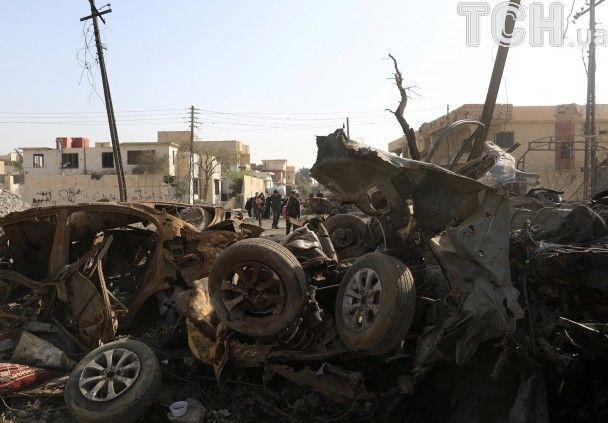 Смертник подорвал себя втолпе беженцев вМосуле