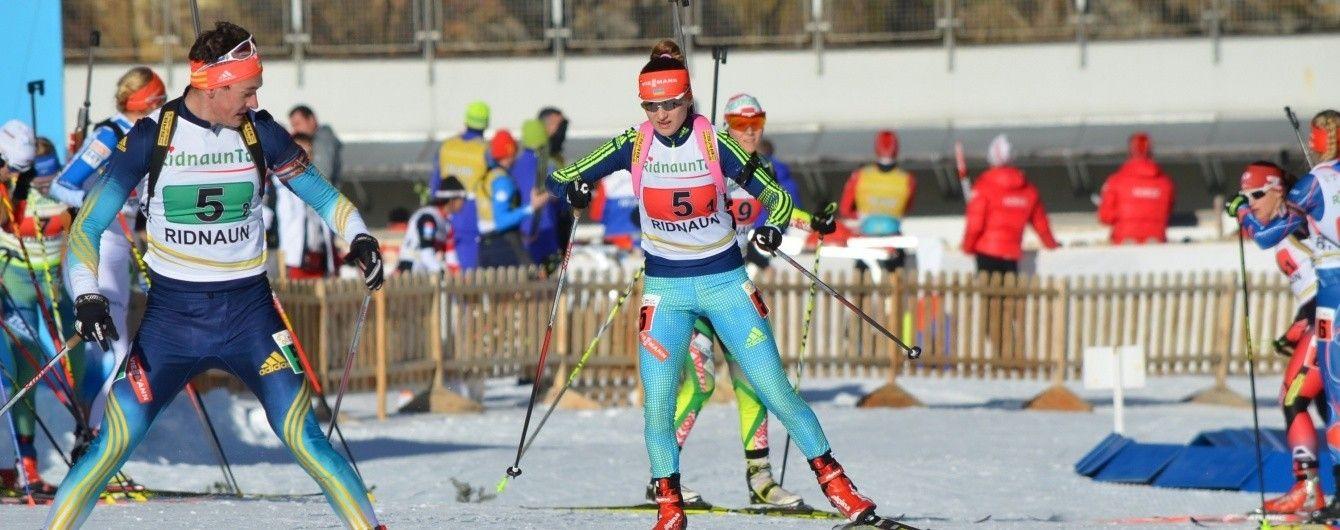 Українська біатлоністка фінішувала п'ятою в спринті першого етапу кубку IBU