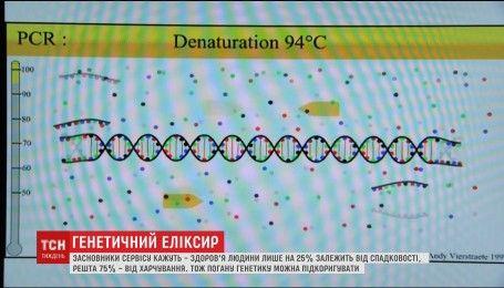 Секрет молодости: в Украине создали сервис, что составляет личный рацион человека, анализируя его гены
