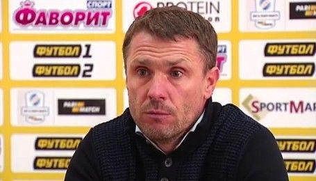 Ребров про поразку в Кропивницькому: Програла вся команда, програв я
