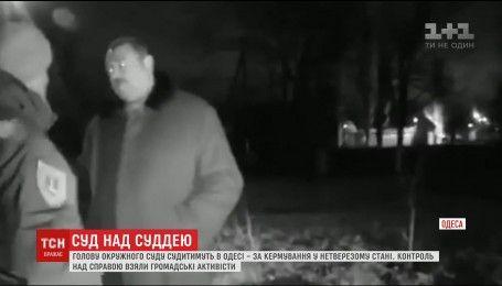 За нетверезе кермування в Одесі судитимуть голову окружного суду