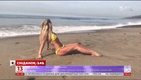 Бритни Спирс порадовала поклонников съемками на берегу океана