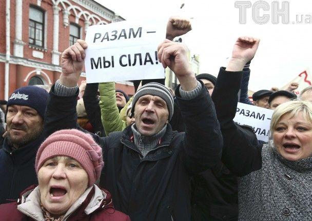 """В Беларуси после """"маршей недармоедов"""" полиция схватила десяток активистов и журналистов"""