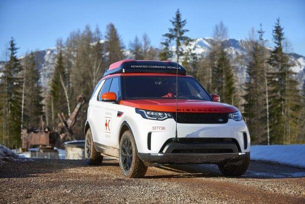 Land Rover Discovery оснастили летающим дроном