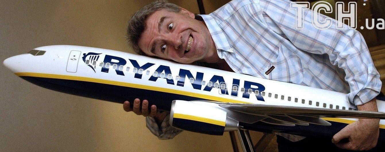 Лоукостер Ryanair объявил маршруты со Львова