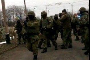 В Сети появились первые видео разгона блокады Донбасса в Кривом Торце