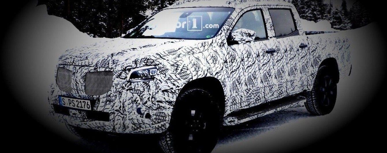 Merсedes-Benz проводит заключительные тесты серийного пикапа X-Class