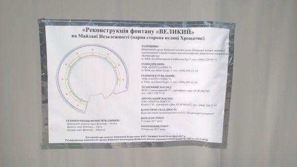 Фонтани на Майдані Незалежності співатимуть та переливатимуться всіма кольорами веселки