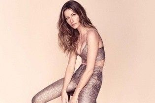 Без макияжа, но с пышной грудью: Жизель Бундхен в новой рекламной кампании