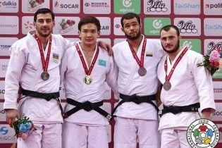 Українські дзюдоїсти завоювали 4 медалі на престижному турнірі в Азербайджані
